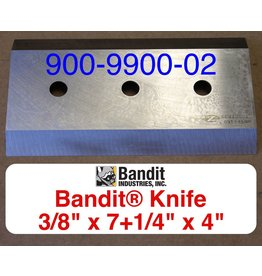 "Bandit® Parts Knife for M100-200 3/8"" Thick 7+1/4"" x 4"" (PRE XP's) 900-9900-02"