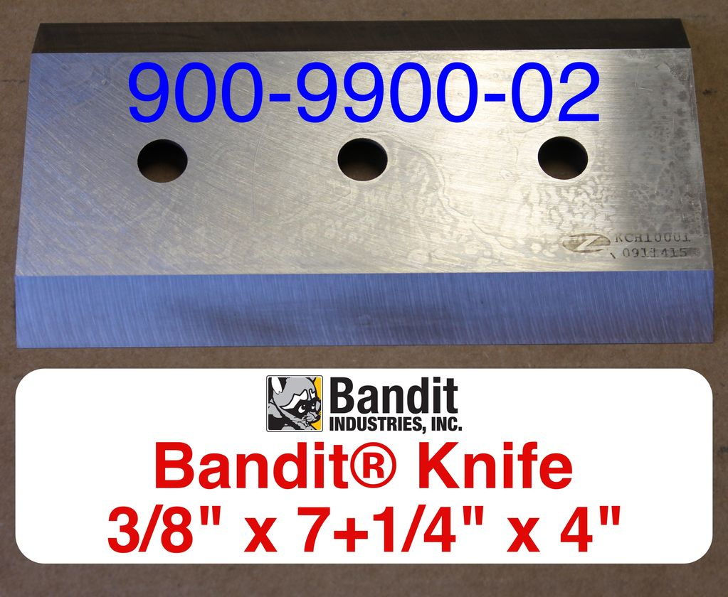 "Bandit® Parts Knife for M100-250 3/8"" Thick 7+1/4"" x 4"" (PRE XP's)"