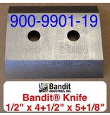 "Bandit® Parts Knife M150XP-1850 5/8 Hole, 1/2"" x 4+1/2"" Wide x 5+1/8"" Long"