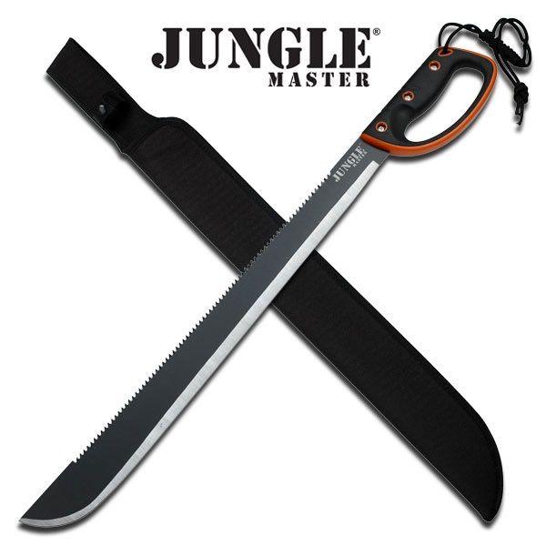 Jungle Master Jungle Master JM-024L Machete, 28-Inch Overall