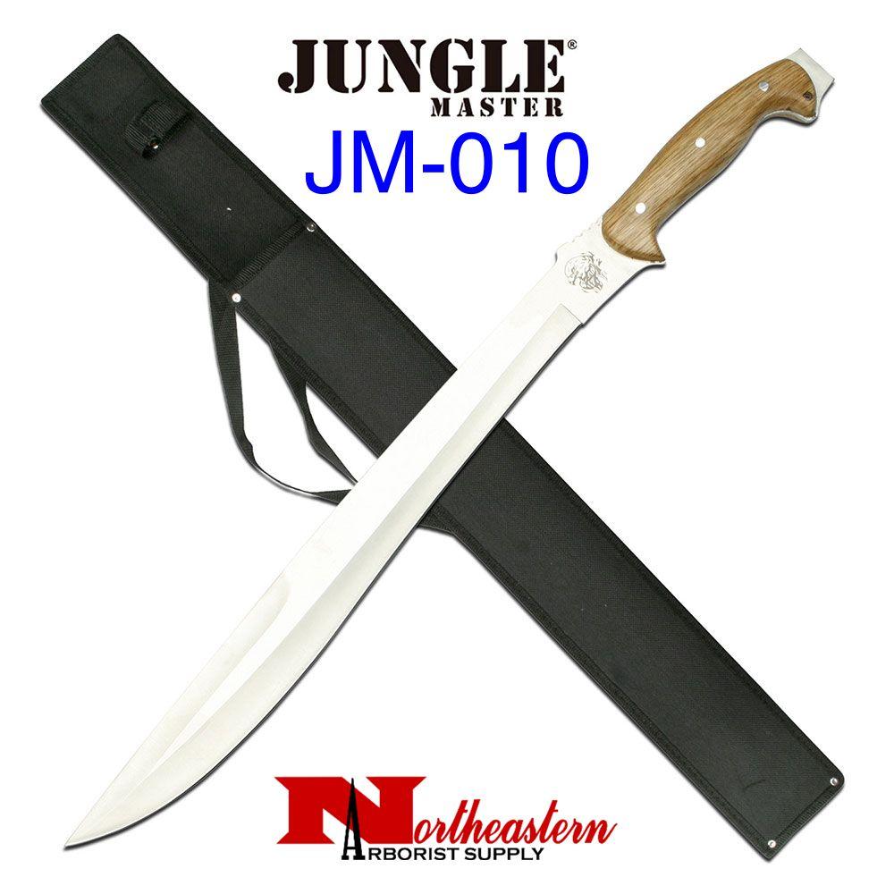 Jungle Master Jungle Master JM-010 Machete 25-Inch Overall