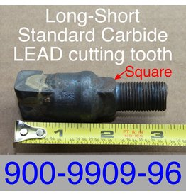 "Bandit® Parts REVOLUTION Tooth SQUARE- SHORT 3"" 900-9909-96 - Lead Tooth"