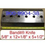 "Bandit® Parts Knife, 1990 5/8"" Bolt Hole 12+1/8"" x 5+1/2"" x 5/8"" 21XP, 900-9904-38"