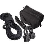 Rock Exotica AZTEK Pulley & Rope Set Assembled (1 Pulley Set, 1-Rope Set) in Black