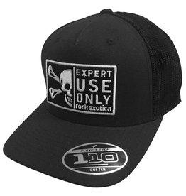 Rock Exotica rockTrucker Hat Black/Mesh