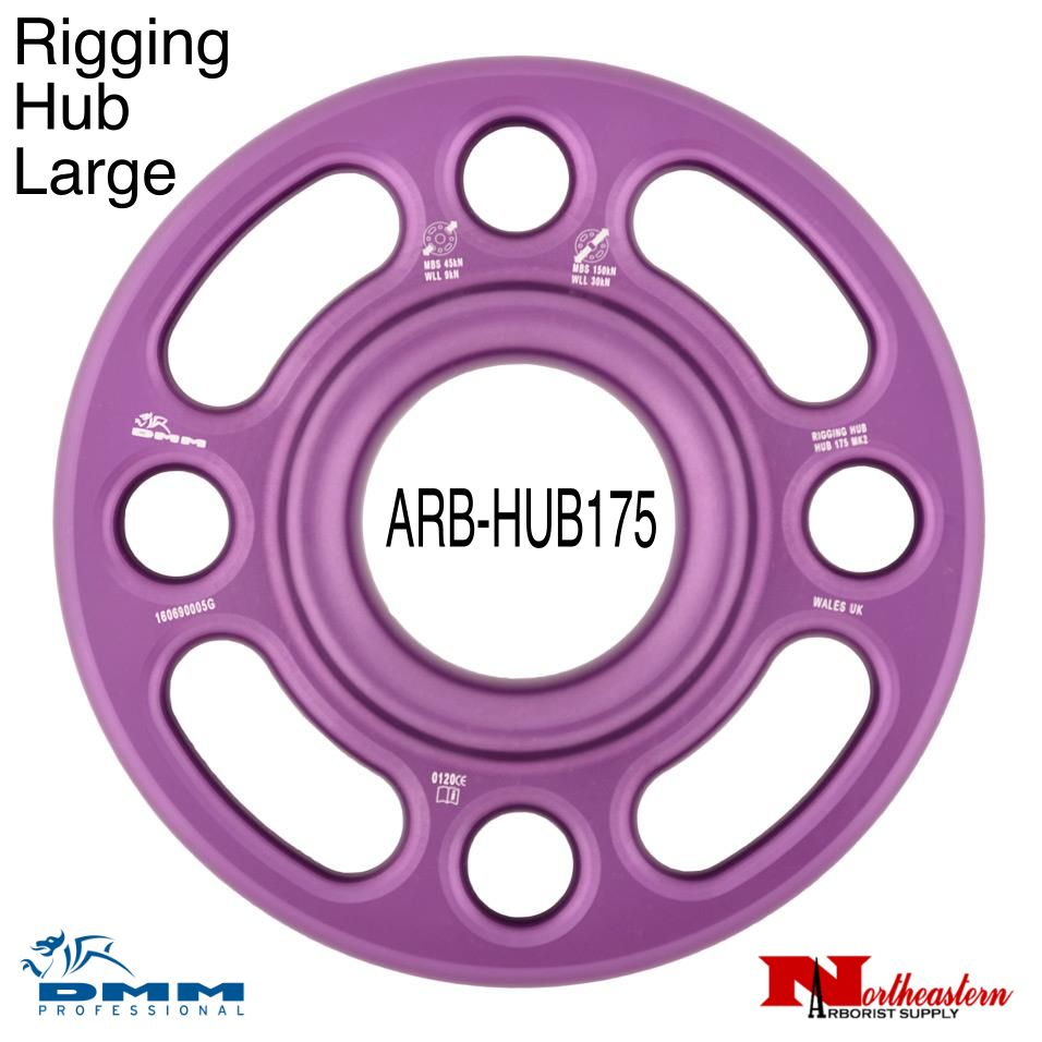 DMM Rigging Hub Large Purple Color