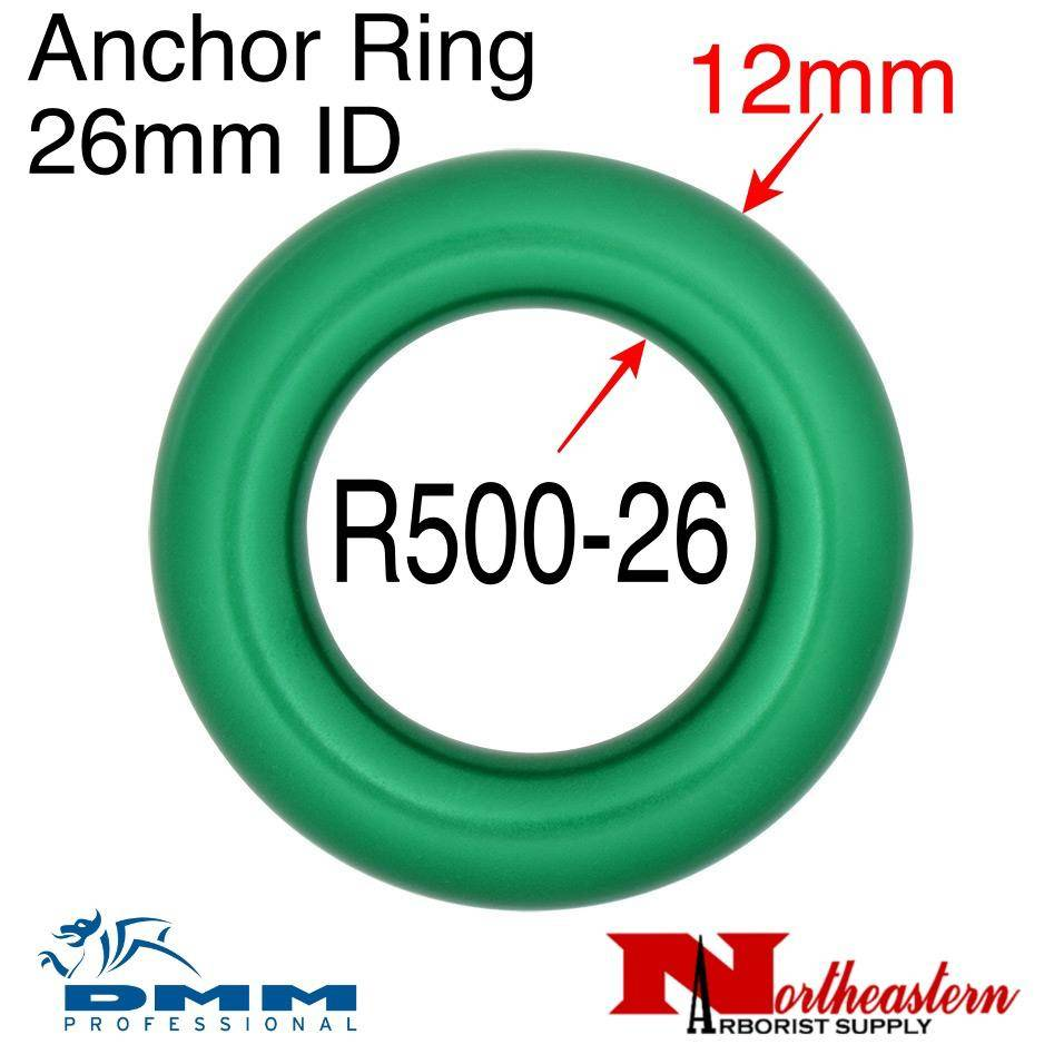 DMM Anchor Ring 26mm ID, Green Color, R500-26