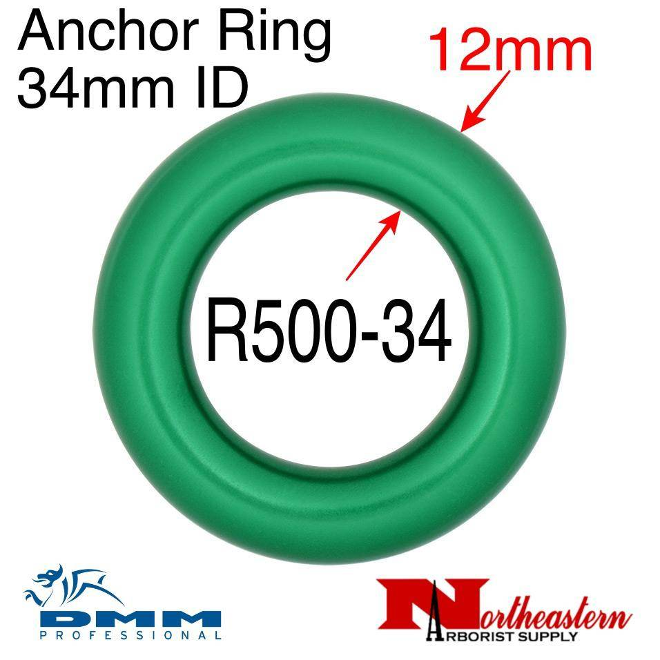 DMM Anchor Ring 34mm ID, Green Color