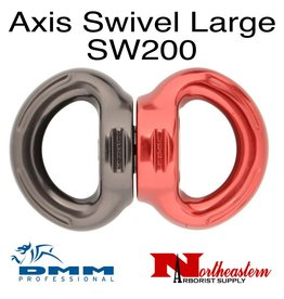 DMM Axis Swivel, Large Titanium/Red Color