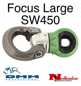 DMM Focus Swivel Large Silver/Green Color