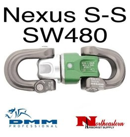 DMM Nexus Swivel S-S,  Silver/Green/Titanium Color