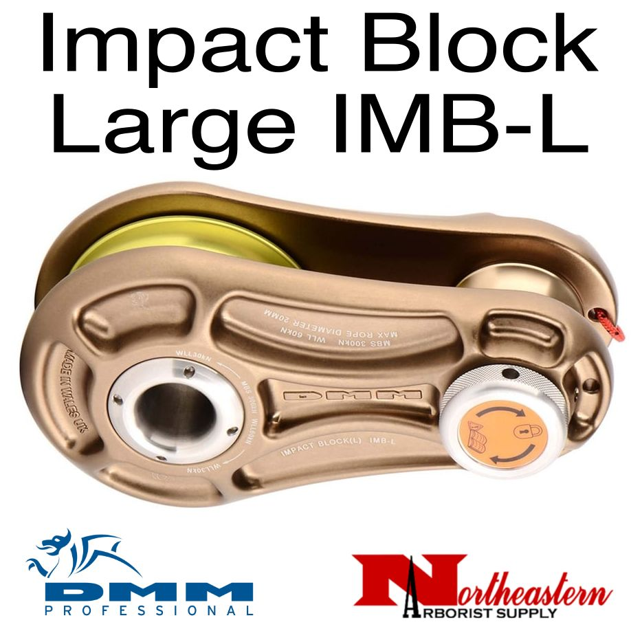DMM DMM, Impact Block Large, Bronze/Lime Color