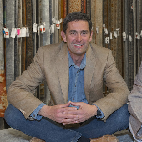 Artisan Rug Gallery Owner Jeff Deutsch
