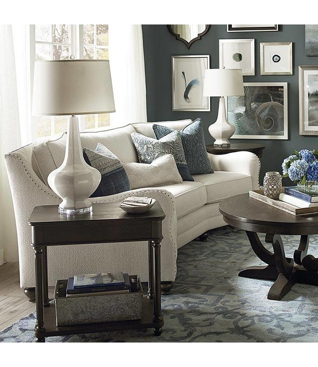 Bassett Furniture Marseille Conversation Sofa Fargo Home Furnishings