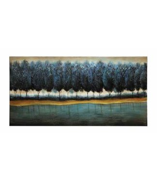 Coaster Blue Forest Wall Art (60' Lx30' H)