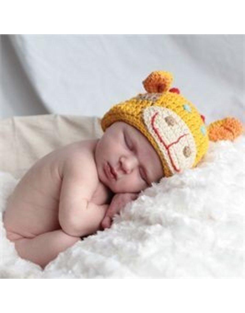 Mud Pie Mud Pie Crochet Animal Hat