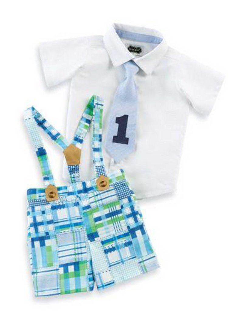 Mud Pie Mud Pie Suspender Set