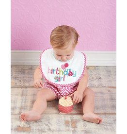 Mud Pie MP Birthday Girl Bib