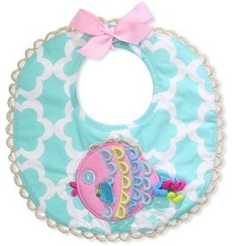 Mud Pie MP Fish Bib