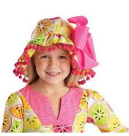 Mud Pie MP Tutti Frutti Citrus Sun Hat