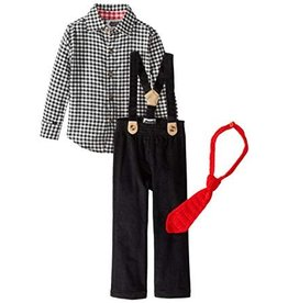 Mud Pie MP Holiday Boys 3 Piece Set