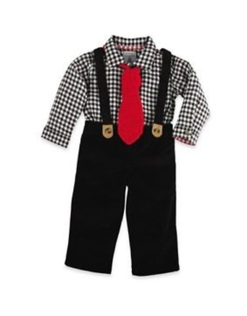 Mud Pie Mud Pie Holiday Boys 3 Piece Set