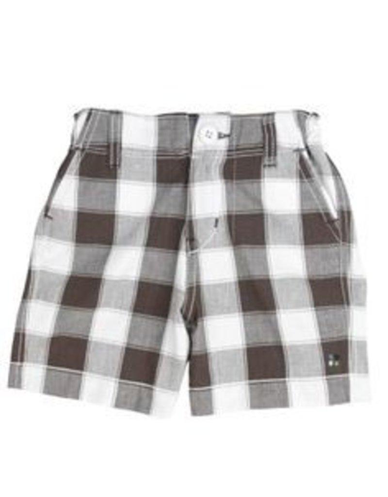 RuffleButts/RuggedButts Rugged Butts Plaid Shorts