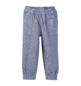 tea collection Chambray Jogger Pants