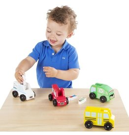 Melissa and Doug M&D Community Vehicle Set
