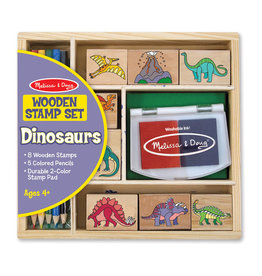 Melissa and Doug M&D Wooden Stamp Sets