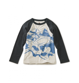 tea collection Tea Collection Turbo Prop Graphic Raglan