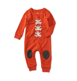 tea collection Tea Collection Monkey Graphic Knee Patch Romper