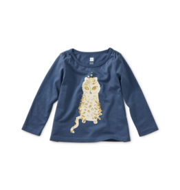 tea collection Tea Collection Sparkle Leopard Graphic Tee