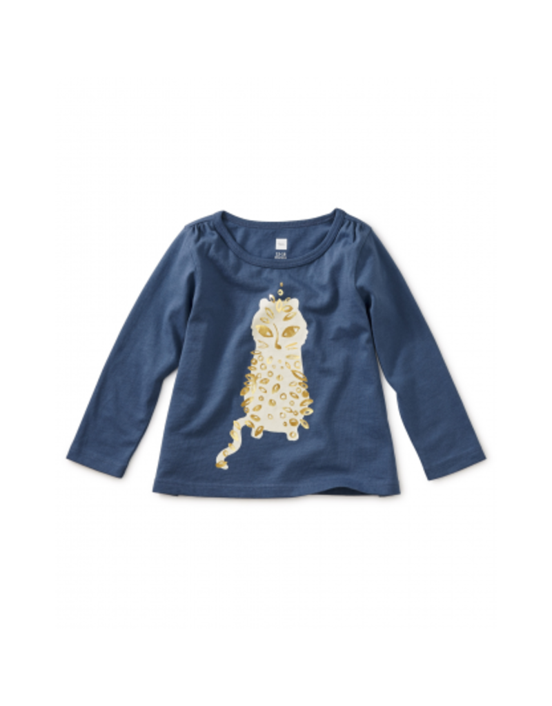 tea collection Sparkle Leopard Graphic Tee