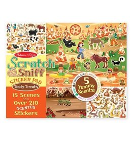 Melissa and Doug Scratch & Sniff Sticker Pad- Tempting Treats