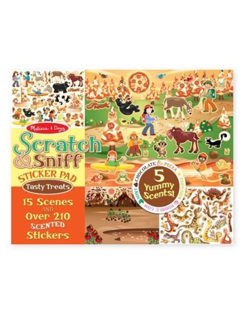 Melissa and Doug Melissa & Doug Scratch & Sniff- Tempting Treats