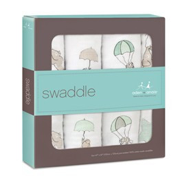 Aden + Anais Aden + Anais Up, Up, and Away Swaddle Blankets