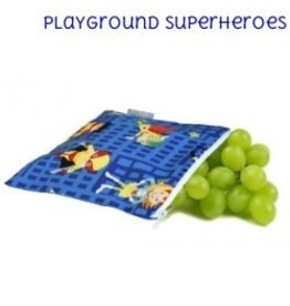 Itzy Ritzy IR Mini Snack Bag- Playground Superheroes