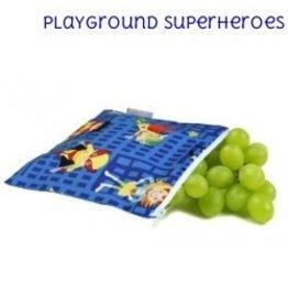 Itzy Ritzy IR Mini Snack Bag- Playground Superheroes