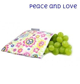 Itzy Ritzy IR Snack Bag- Peace & Love