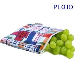 Itzy Ritzy IR Snack Bag- Plaid