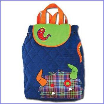 Stephen Joseph Quilt Backpack - Clementine