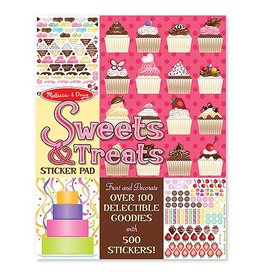 Melissa and Doug Sticker Pad- Sweets & Treats