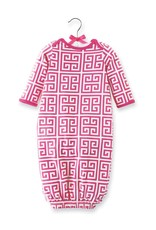 Mud Pie Mud Pie Greek Key Sleep Gown