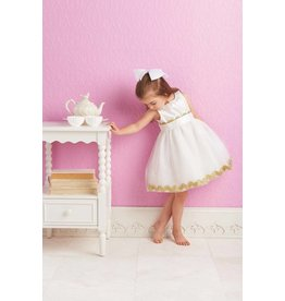 Mud Pie MP Ivory Ric Rac Dress