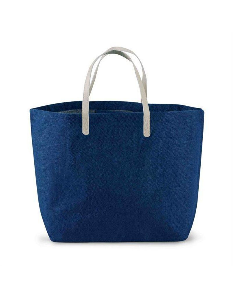 Mud Pie Mud Pie Solid Jute Tote Bag