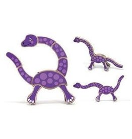 Melissa and Doug Grasping Toy- Dinosaur