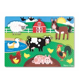 Melissa and Doug Peg Puzzle