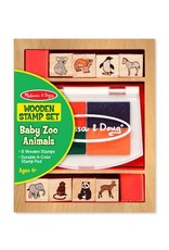 Melissa and Doug Melissa & Doug Baby Farm & Zoo Stamp Set
