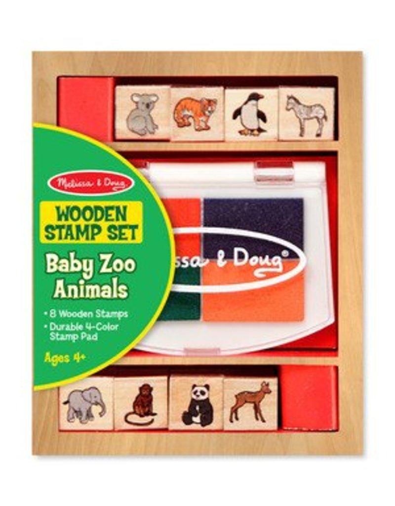 Melissa and Doug Melissa & Doug Baby Farm & Zoo Stamp Set